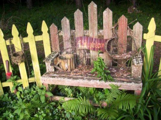 "Dean McCall says, ""This old bench has been there, done that, & now doing it again!"""