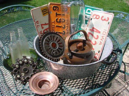 Flea market finds for materials