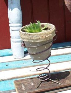 Sue Gerdes' spring pot