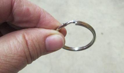 this is a key ring that I use