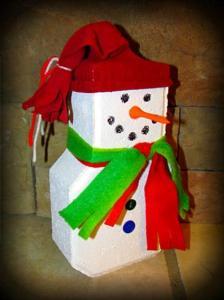 Kirk Willis's snowman