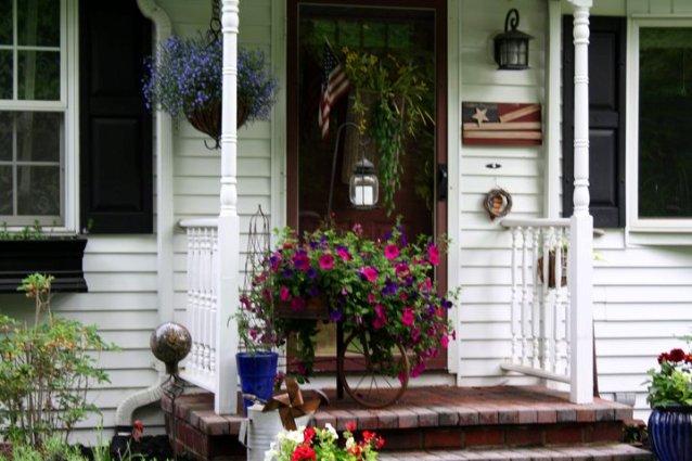 Debbie Disbro's front porch