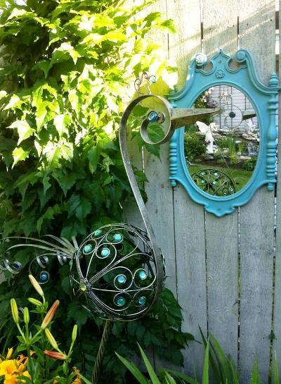 """Ann Elias,""""Mirror mirror on the fence..."""""""