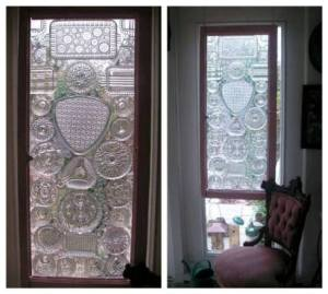 Becky's recycled glass lidded window