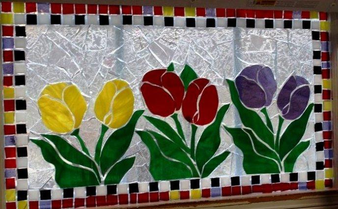 Charlette Clark's terrific tulips