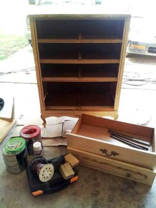 Valerie Blackwel'sl dresser, before