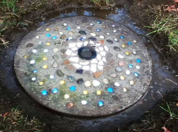 Cherrie Carine's barrel ring stepping stone