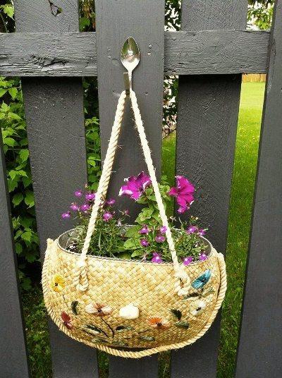 Pamela Stewart-Surette purse planter
