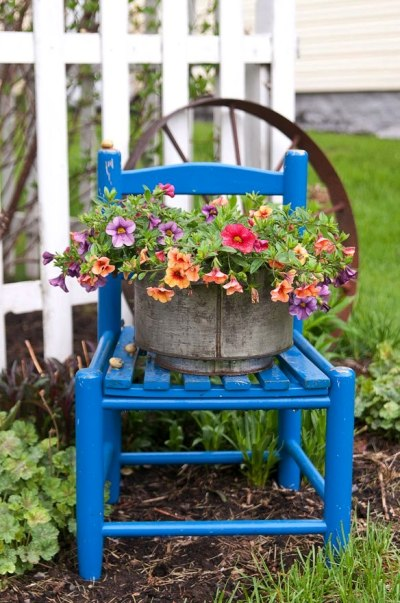 Jessica Eiss-Healthcoach's little blue chair