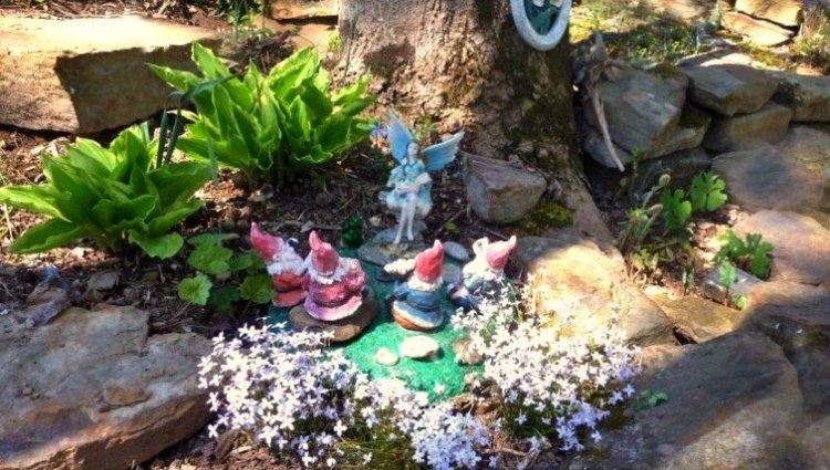 Recipes for fairy trees, step by step | Flea Market Gardening