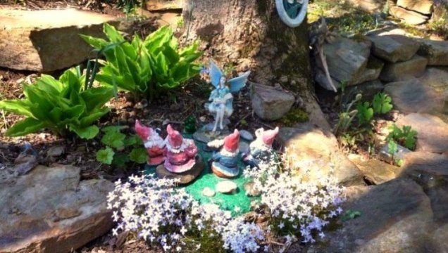 Cheryl York's wise little 'teacher' fairy