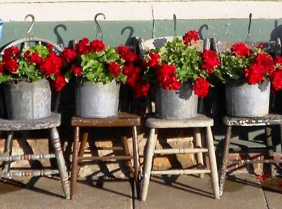 Just Enough Antique's signature reds