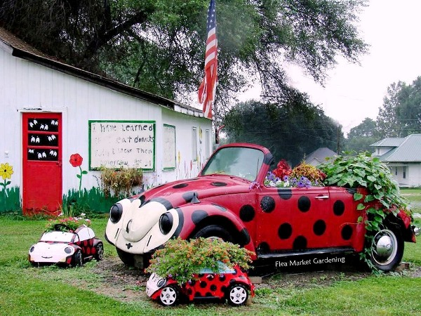 Jeanne Sammons Snapped This While On Vacation In Unionville, Iowa