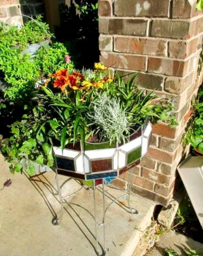 Winona Spinks's jazzy new planter