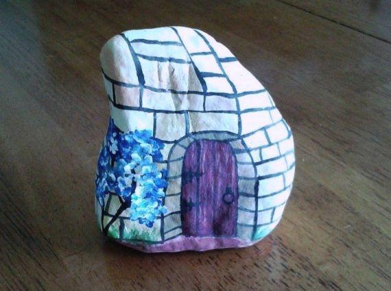 Susan Heller's best 'stone' fairy home