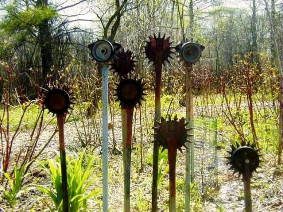 Lark Kulikowski's unique collection of hand cultvators