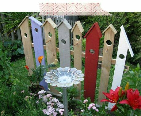 Cut picket fence you can build and paint