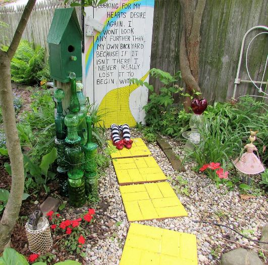 My Wizard of Oz Garden
