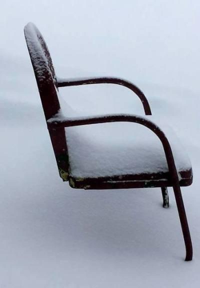 We love metal like Dan Kidwell's chair,...because they last