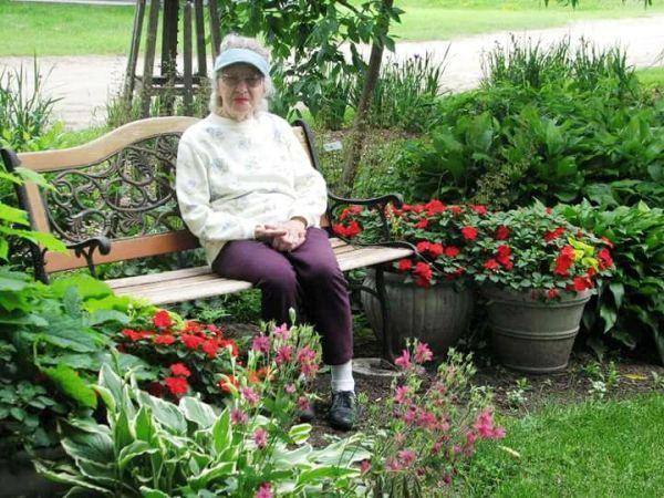 Margie Ann My awesome gardening mom!