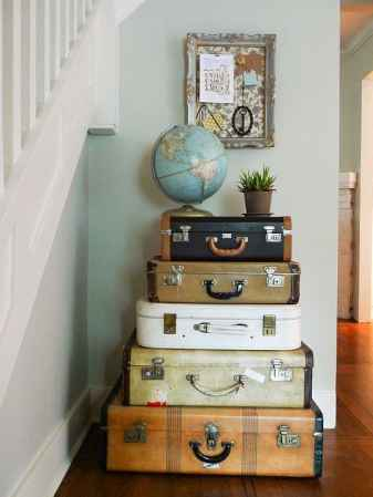 vintage luggage design