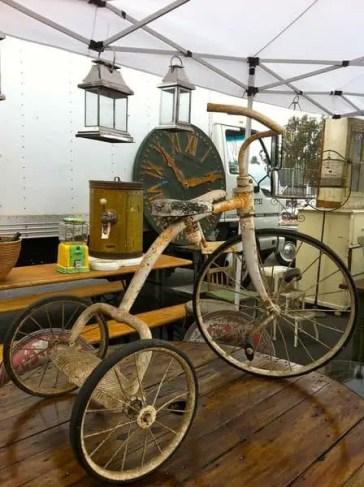 old vintage bicycle the Rose Bowl Flea Market