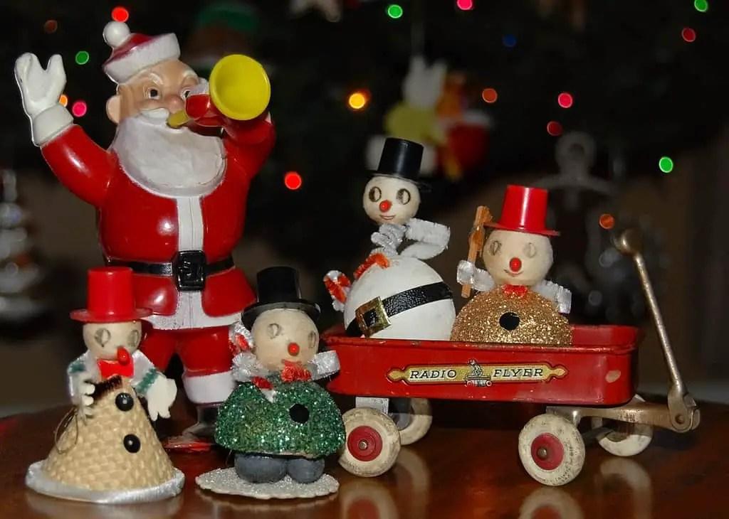 Allen Vintage Christmas Ornaments