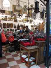 jennifer yin Buenos Aires Mercado de San Telmo meat slicers galore. SF restaurateurs eat your heart out
