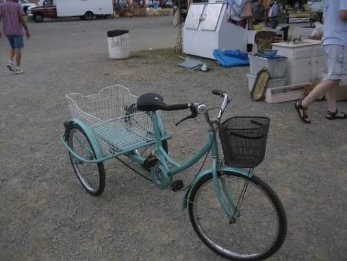 Nashville Flea Market - vintage bike