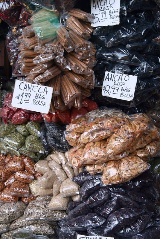 Spices at San Jose Farmers Market