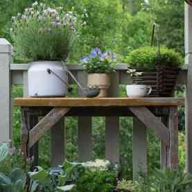 Vintage Garden Decor ideas 002