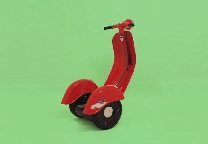 Zero Scooter - Vespa Segway-024