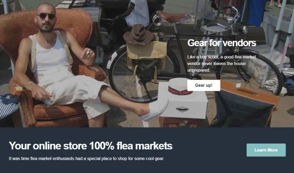 flea market gear for vendors