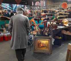vintage and antiques Old Spitalfields Market