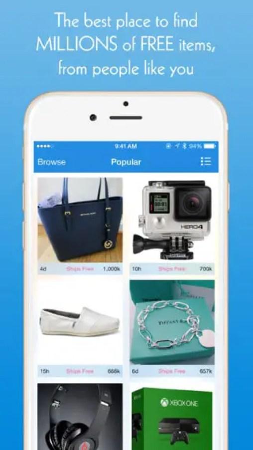 Listia App iOS Android