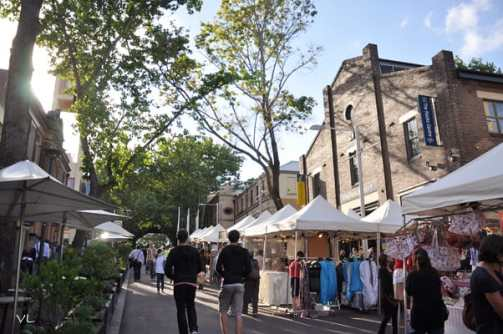 1-The Rocks Markets Sydney