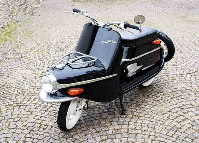 Cezeta 506 Electric Scooter - 4