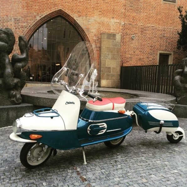 Cezeta 506 Electric Scooter 5