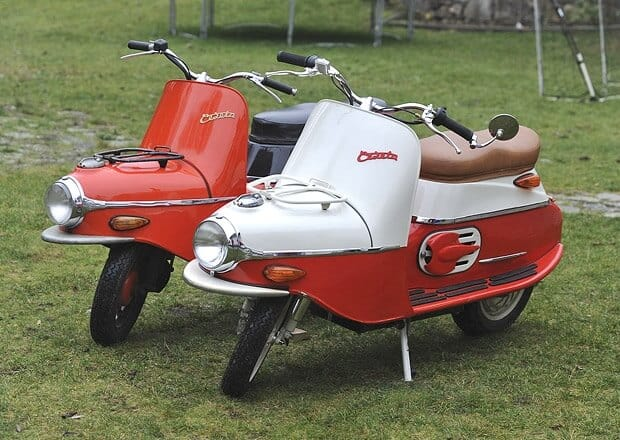 Cezeta 506 Electric Scooter - 6