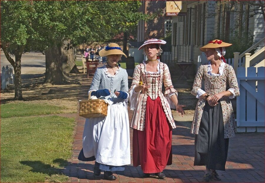 Ron Cogswell Ladies of Williamsburg