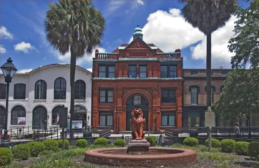 Ron Cogswell The Savannah GA Cotton Exchange