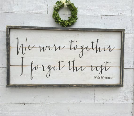 wooden quote sign 2