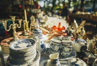 Autumn flea market © Jill Gifford