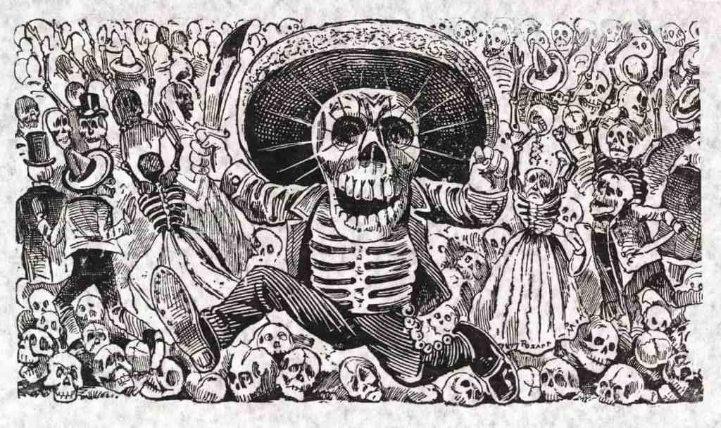 José Posada - Day of the Dead illustration