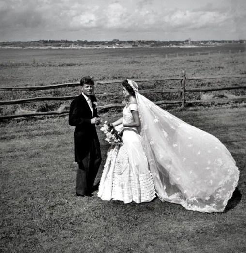 Original image: Senator John F. Kennedy And Jacqueline Bouvier Kennedy On Their Wedding Day. September 12, 1953. © Marina Amaral