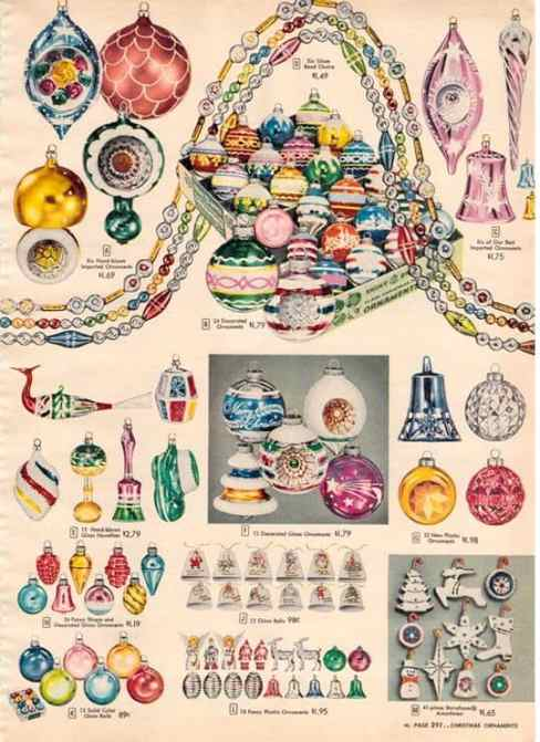 vintage christmas ornaments 16