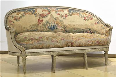 Sitzbank im Louis XVI Stil