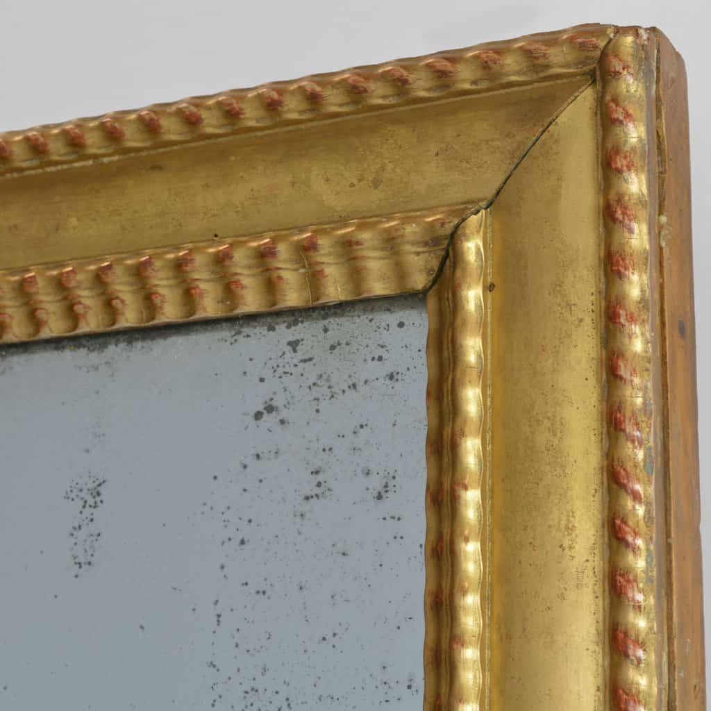 Early 19th Century Mirror with Mercury Glass Gold Gilt Frame European Finds Corner 1024x1024