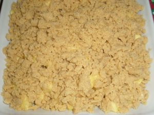 Fleanette's  Kitchen - Crumble aux pommes - Le dessert le plus simple à réaliser au monde...