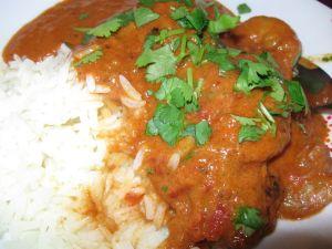 Fleanette's Kitchen - Curry de crevettes